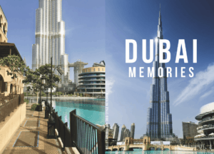 Buchcover Notizbuch Punktraster Burj Khalifa