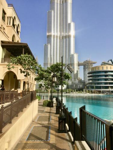 View to Burj Khalifa